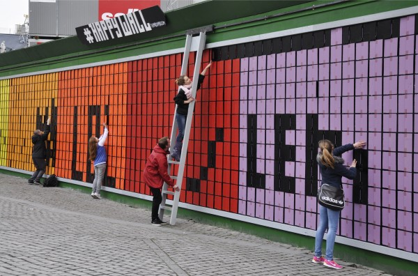 'Happy Wall', a Cool Construction project (photo: Lene Skytthe).