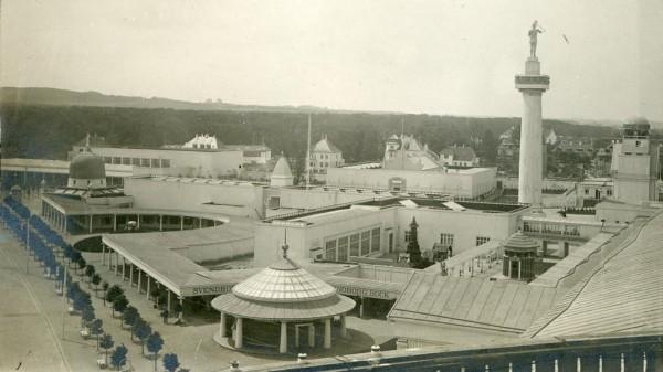 Danish National Exhibition in Aarhus in 1909 (photo: visitaarhus.dk)